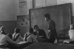 Урок Д. Я. Райхина, у доски Г. А., 14 мая 1934 года