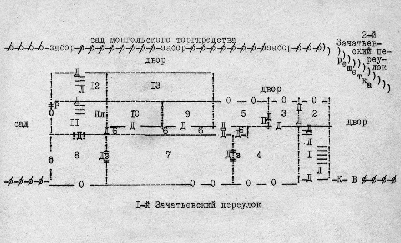 План подвального этажа нашего дома